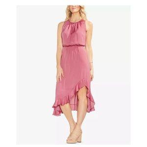 New Vince Camuto Ruffled blouson Pink Dress